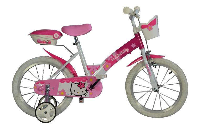 Dino - 156nk-hk Hello Kitty 16 Inch 27 Cm Meisjes Terugtraprem Roze