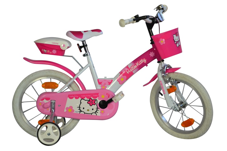 Dino 156NSK Hello Kitty 16 Inch Meisjes V Brake Roze