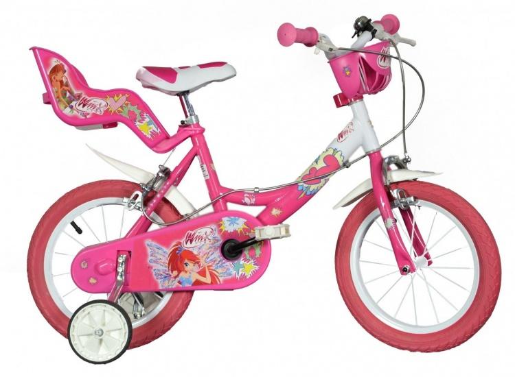 Dino 164R 09W Winx 16 Inch Meisjes V Brake Roze