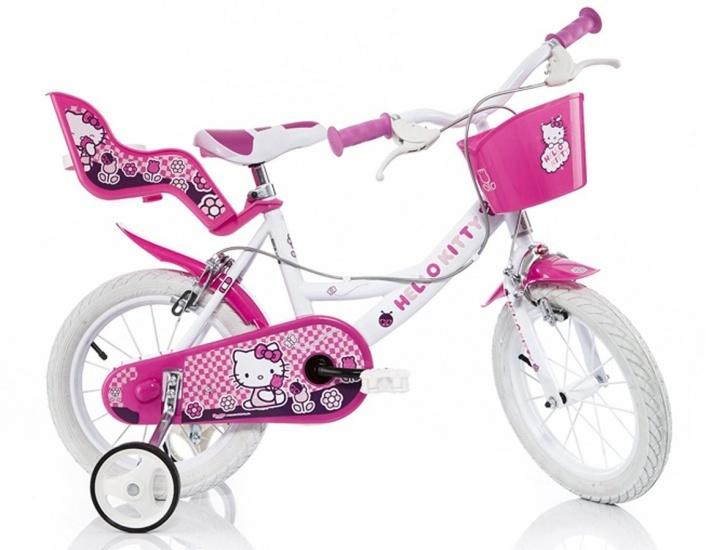 Dino 164R HK Hello Kitty 16 Inch Meisjes V Brake Roze