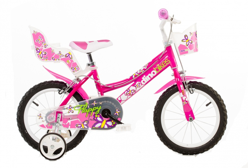 Dino 166R 02 16 Inch Meisjes V Brake Roze