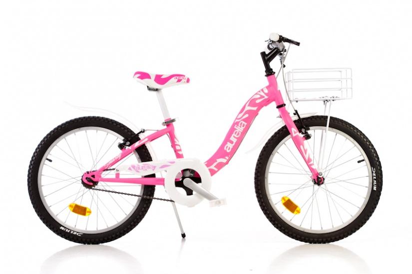 Dino - 204r 20 Inch 26 Cm Meisjes V-brake Roze