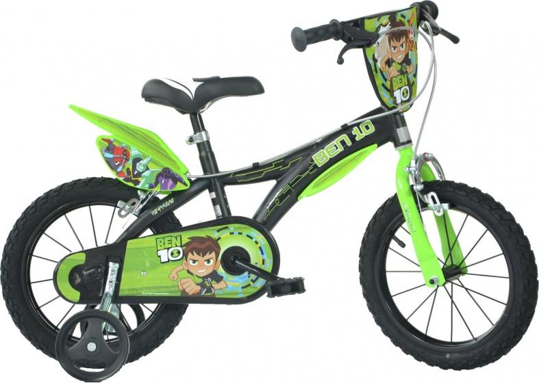Dino Ben 10 14 Inch 24 cm Jongens Knijprem Zwart/Groen