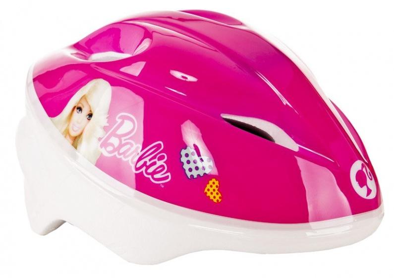 Dino fietshelm Barbie meisjes roze maat 54/58