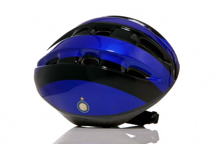 Dino Helm Internazionale Kind Blauw Zwart Maat 52/56 cm