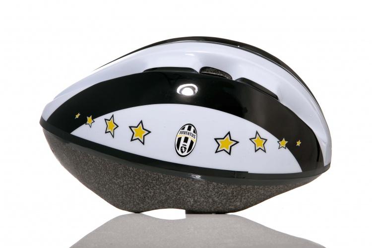 Dino Helm Juventus Kind Wit Zwart Maat 52/56 cm