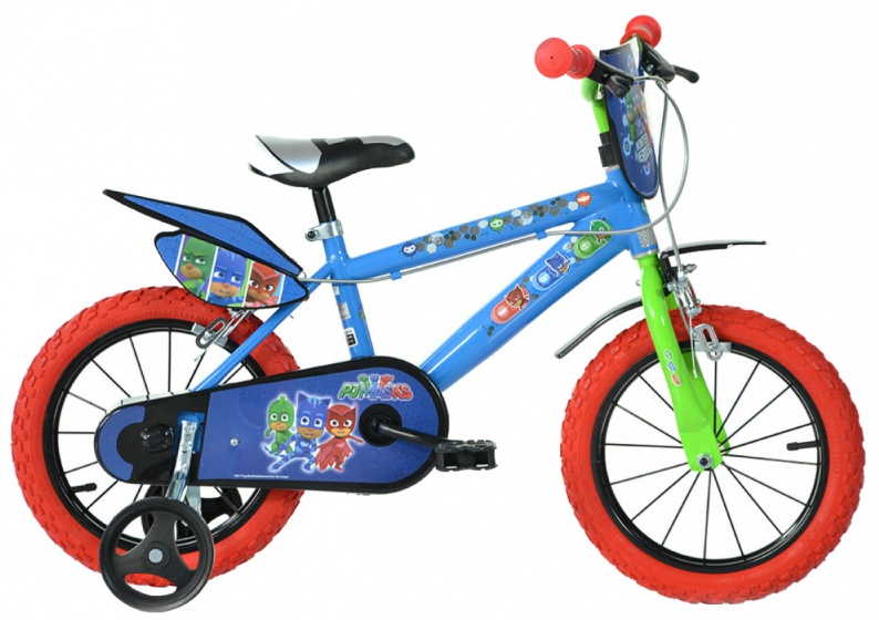 Dino Pj Masks 16 Inch Boys Caliper Blue Internet Bikes