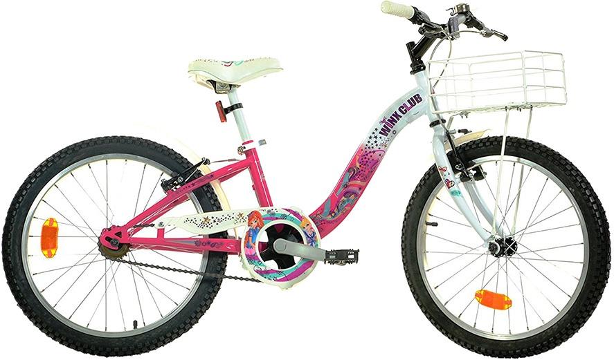 Dino Winx 20 Inch 27 cm Meisjes V Brake Roze/Wit