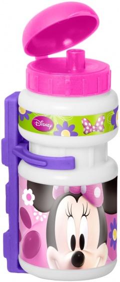 Disney bidon met bidonhouder Minnie Mouse roze/paars 500 ml