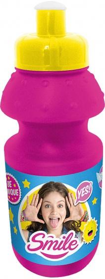 Disney bidon met bidonhouder Soy Luna roze 330 ml