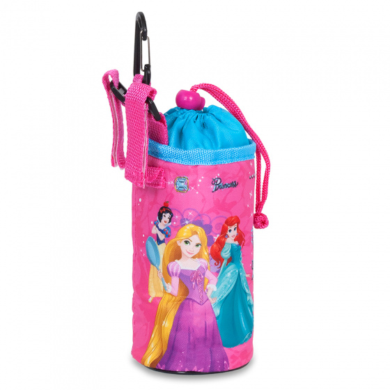 Disney bidontas Princess 0,5 liter roze/blauw
