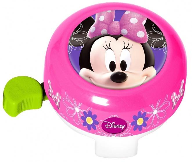 Disney fietsbel Minnie Mouse 55 mm roze