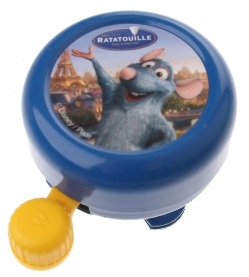 Disney fietsbel Ratatouille 5,5 cm blauw