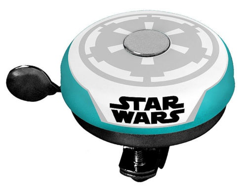 Disney fietsbel Star Wars 55 mm wit/turquoise