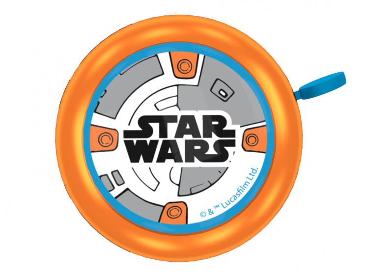 Disney fietsbel Star Wars BB8 junior 5,5 cm oranje
