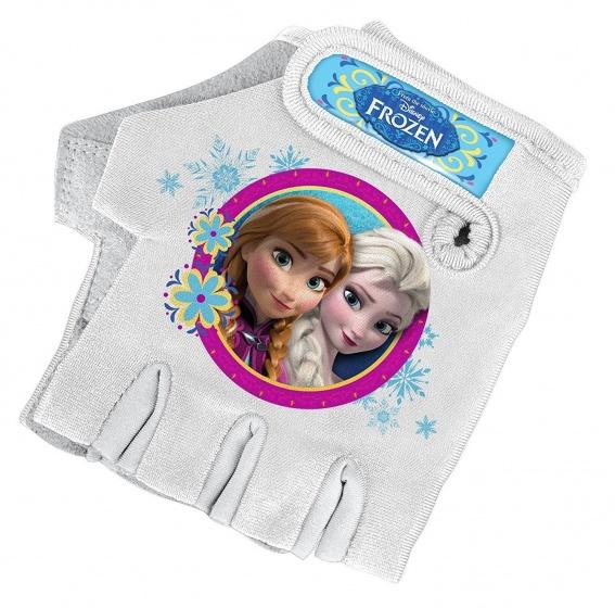 Disney fietshandschoenen Frozen meisjes wit maat 7