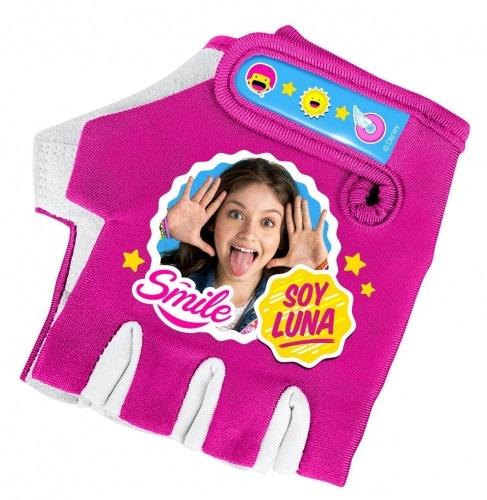 Disney fietshandschoenen Soy Luna meisjes roze maat 7