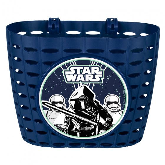 Disney fietsmand Star Wars First Order junior 20 cm blauw