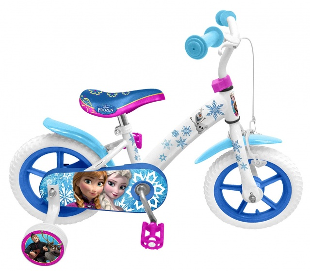 Disney Frozen 12 Inch 21,5 cm Meisjes Doortrapper Wit/Blauw