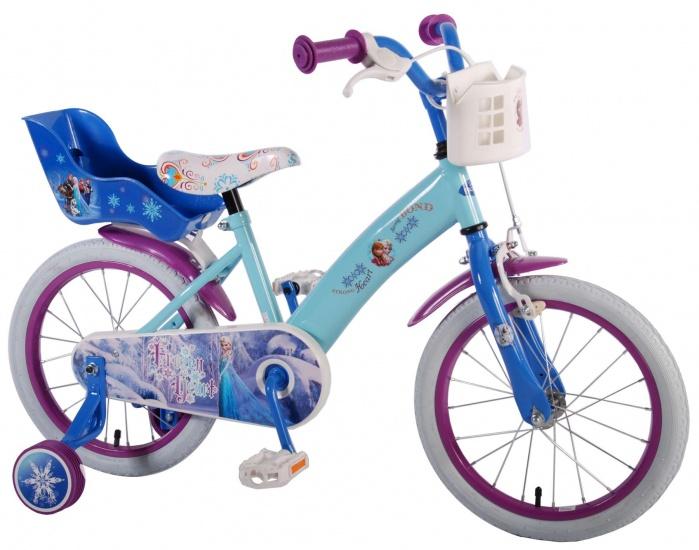 Disney - Frozen 16 Inch 25,5 Cm Meisjes Terugtraprem Blauw