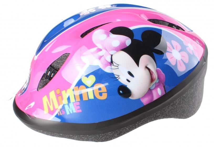 Korting Disney Kinderhelm Met Pads Minnie Mouse Meisjes Roze 5 delig