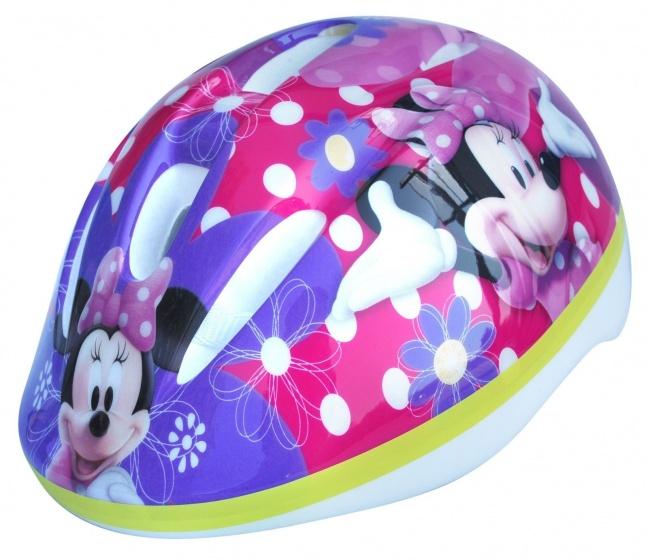 Disney kinderhelm Minnie Mouse roze/paars maat 46/53