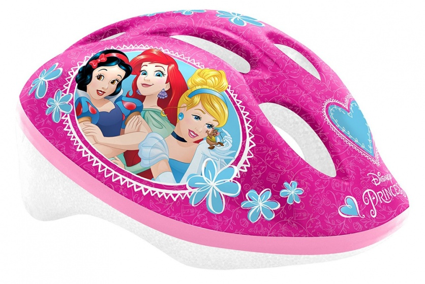 Disney kinderhelm Princess roze maat 50/56