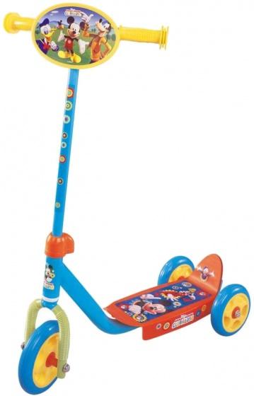 Disney Mickey Mouse 3 wiel kinderstep Junior Blauw/Geel