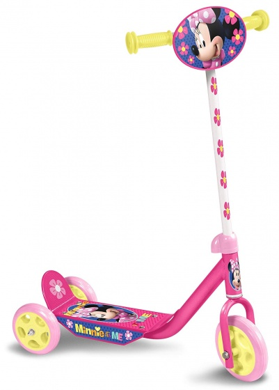 Disney Mickey Mouse 3 wiel kinderstep Meisjes Voetrem Roze/Geel