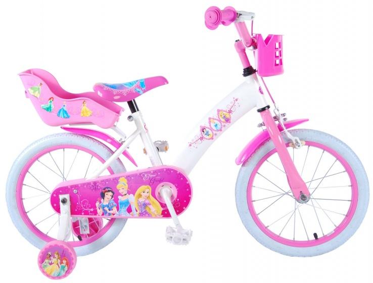 Disney Princess 16 Inch 25,4 cm Meisjes Terugtraprem Wit/Roze