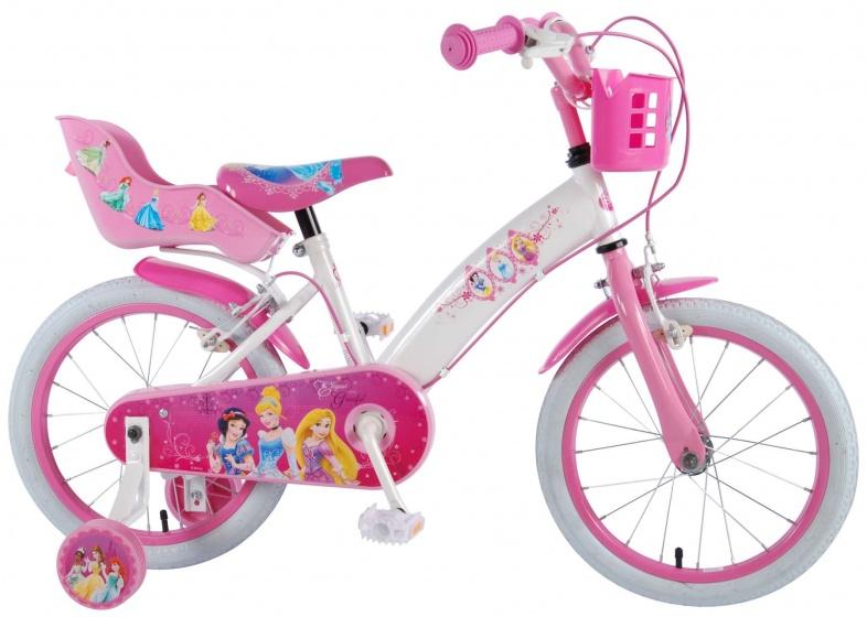 Disney Princess 16 Inch 25,4 cm Meisjes Knijprem Wit/Roze