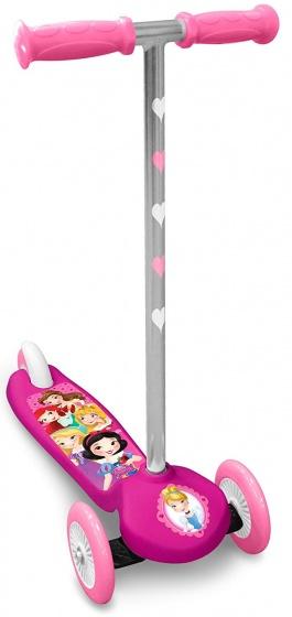 Disney Princess 3 wiel kinderstep Meisjes Voetrem Roze