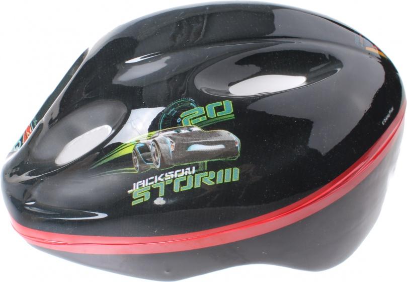 Disney protectiehelm Cars 3 zwart maat 52/56