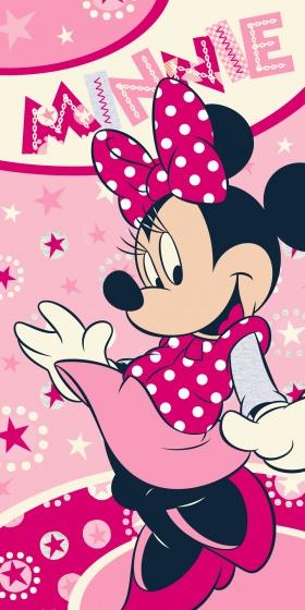 Disney Minnie Mouse Serviette de Bain en Polyester pour Fille