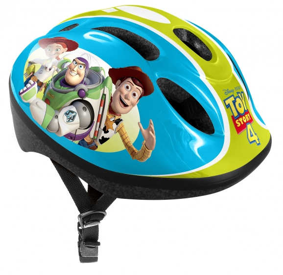Korting Disney Toy Story 4 Skatehelm Jongens Blauw groen Mt 53 56 Cm
