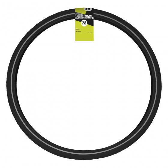 Dresco buitenband 28 x 1.75 (47 622) rubber zwart