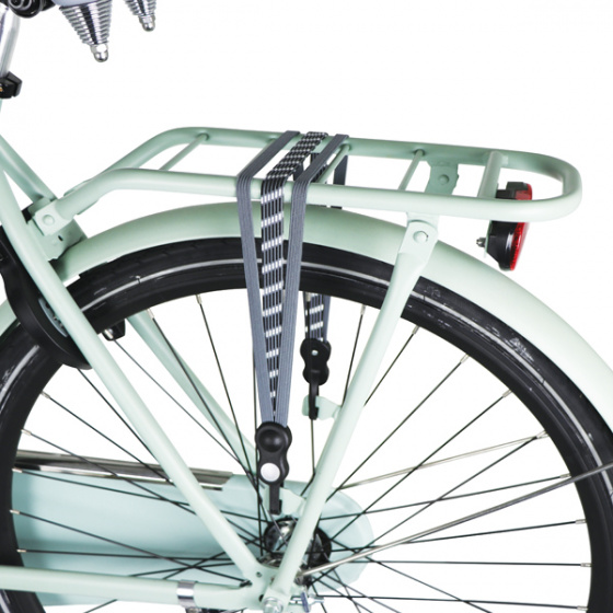 Dresco snelbinder 70 110 cm polyester grijs