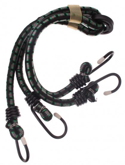 Dresco Spinbinder B Fixed 4 haken zwart / groen