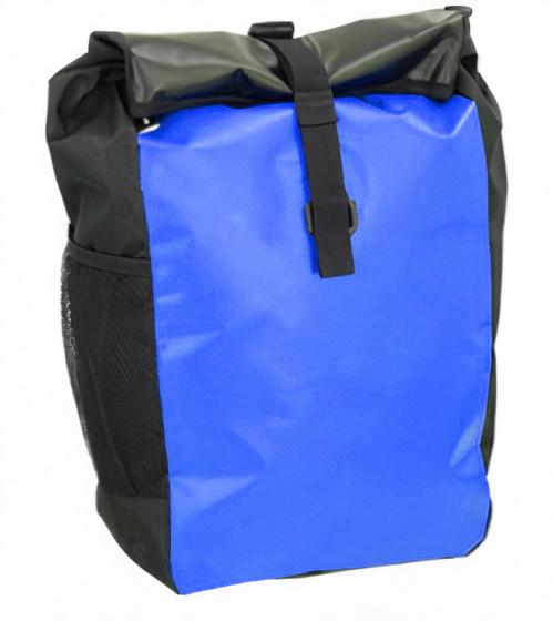 Dunlop bagagedragertas 15 liter polyester blauw