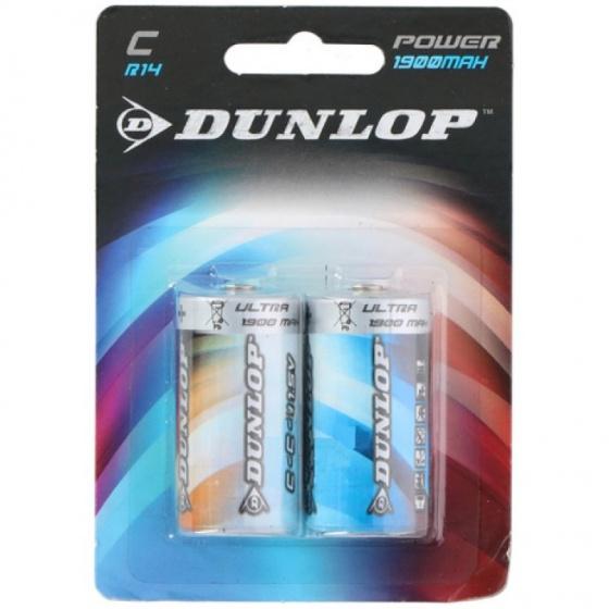 Dunlop batterijen R14 C zink 2 stuks