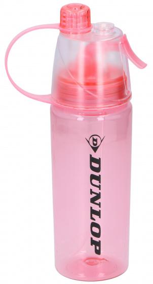 Korting Dunlop Drinkfles Tritan 550 Ml Polyetheen 24,5 Cm Rood