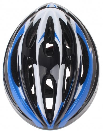 Dunlop Fietshelm HB13 Unisex Blauw / Zwart Maat 51/55 cm