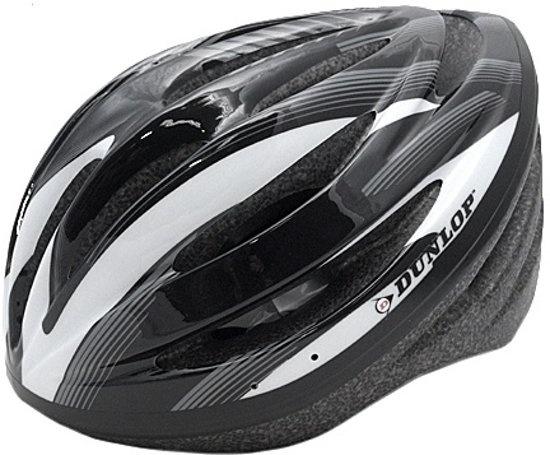 Dunlop Fietshelm HB13 Unisex Grijs / Zwart Maat 51/55 cm