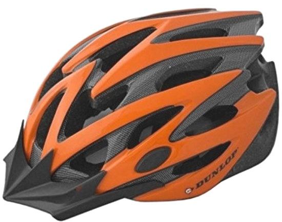 Dunlop fietshelm MTB maat 55/58 cm rood