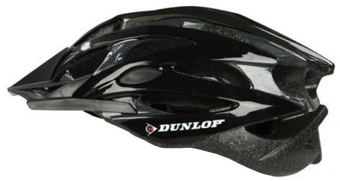 Dunlop fietshelm MTB maat 55/58 cm zwart