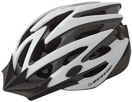 Dunlop fietshelm MTB maat 55/58 cm wit