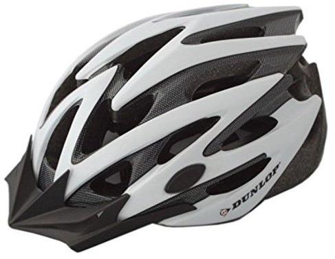 Dunlop fietshelm MTB maat 58/61 cm wit