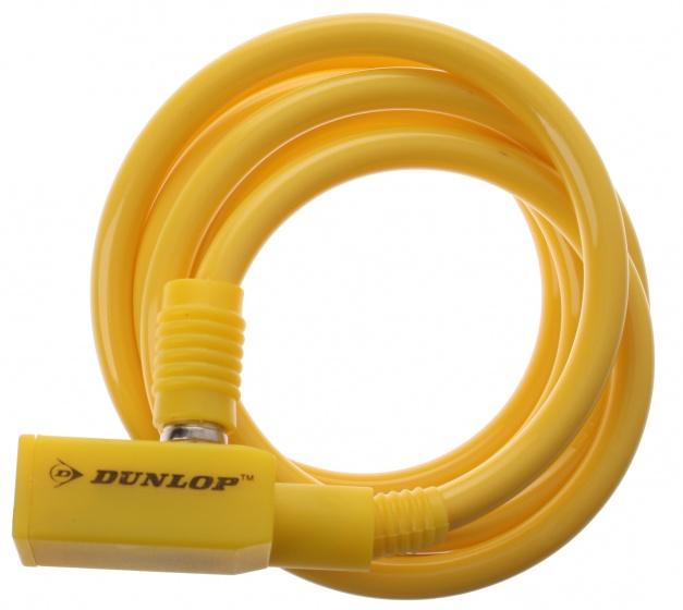 Dunlop spiraalslot 1500 x 8 mm geel