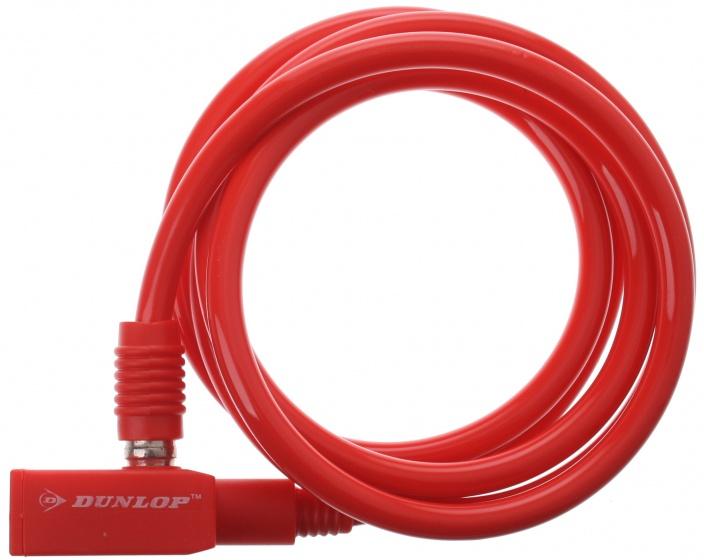 Dunlop spiraalslot 1500 x 8 mm rood