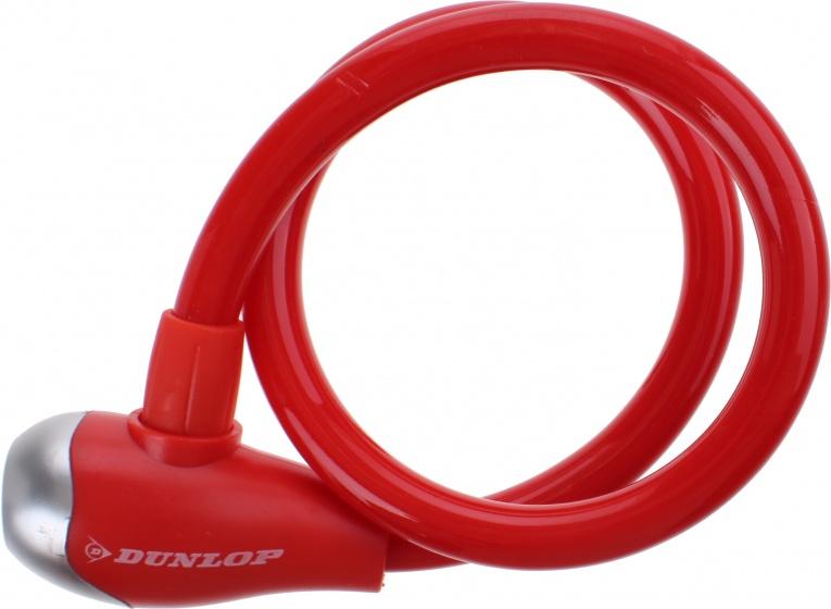 Dunlop spiraalslot PVC 650 x 12 mm rood